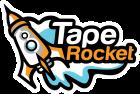 tape rocket logo