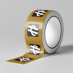 one-color-kraft-tape